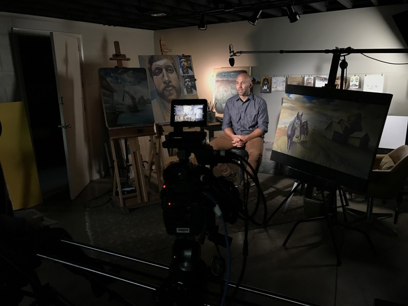 Brad LeDuc: Portrait of an Artist