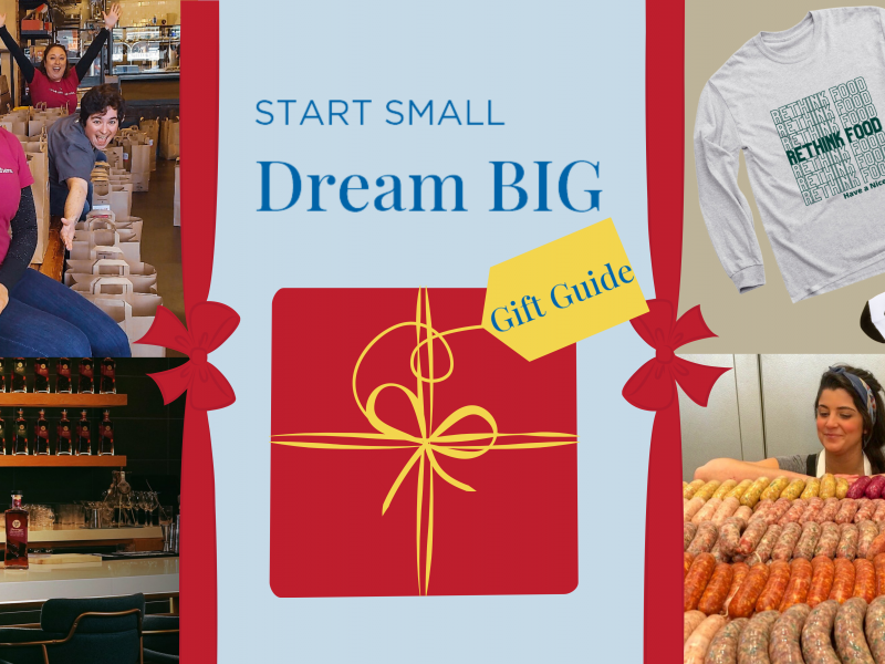 Start Small, Dream BIG Holiday Gift Guide