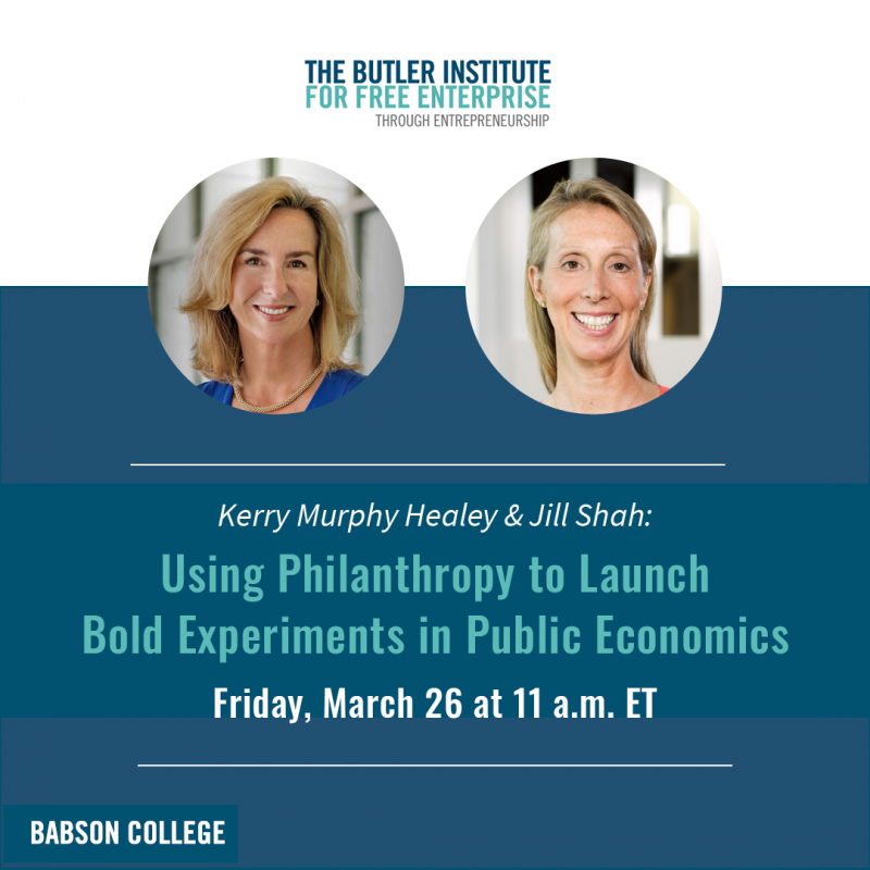 Kerry Healey and Jill Shah: Using Philanthropy to Launch Bold Experiments in Public Economics
